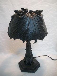 39 cm Fledermaus Stehlampe Lampe Vampir Bat Deko GV 766 5898