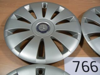 Mercedes Benz Radkappen 15 Zoll B Klasse T246 4 Stück ArNr 766