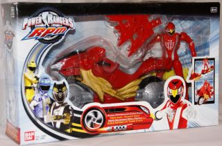 Power Rangers RPM 31051   Eagle Ranger mit Turbo Cycle Trax System NEU