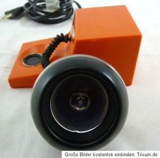 Kugelleuchte Kugellampe Osram Space Age Design orange Plastic Panton