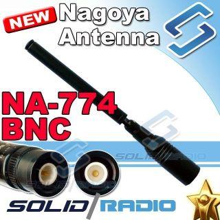 NAGOYA NA 774 BNC Dual band TELESCOPIC Antenna for ICOM