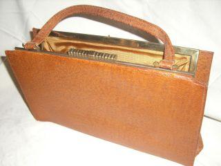 Sehr schöne alte Handtasche    Tasche    60er Jahre F.L
