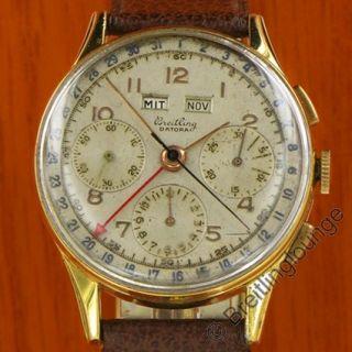 Breitling Uhr (Ur ) Datora 785 aus 1949   extrem selten