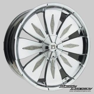 20 Chromfelge Omega Fat Joe für Audi VW Mercedes BMW Nissan Mazda