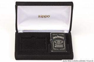 Zippo Feuerzeug ZIPPO JACK DANIELS NR.xxxx VON 1000 LIMITED EDITION