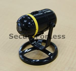 Mini Wireless WIFI Portable WIFI IP SPY Camera + Stand & Adaptor for