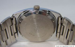Saytoko Grand Luxe Super 21 swiss made Herren Uhr mit Datum vintage