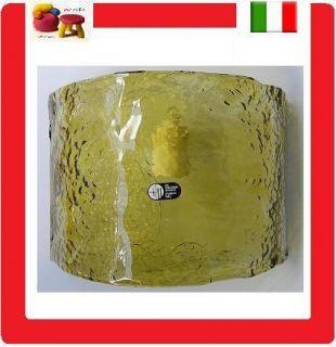 MAZZEGA lampada vetro di murano applique design vintage