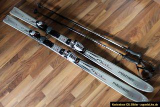 Fischer RCR VRS Allround Carver Carving Ski 157cm + Marker M5.1