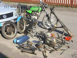 Honda CB CY 50 125 CB50 CY50 J 50J Motor engine 49ccm