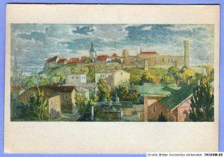 Tallin Ansichtskarte A.Jansen Tallinn,Toompea beste Erhaltung