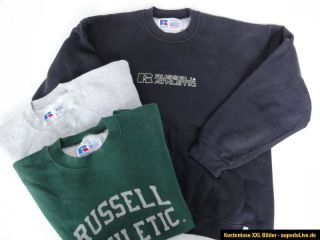 "3x RUSSELL ATHLETIC Pullover Sweatshirts ""HIGH Cotton™ BASIC Sweat"