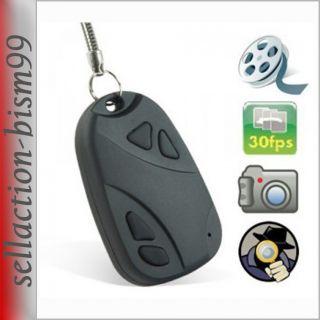 Mini Kamera Schluesselanhaenger Spycam Helmkamera Versteckte Car Key