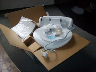 White Elongated Toilet Seat SW 814 Heated Bidet With Remote Control