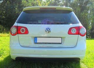 VW Passat 3C B6 Variant Heckansatz Heckschürze Stoßstange R Line