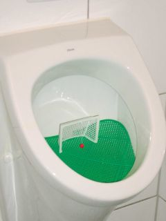 Klokicker Fussball Tor Ball Urinal Pinkelbecken Neu 796