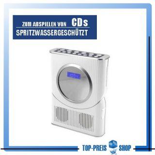 Duschradio Badezimmerradio mit CD Soundmaster Radio BCD250