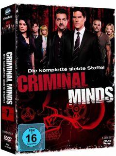 Criminal Minds ~ 7.Staffel ~ 6 DVD ~ OVP ~ Kein Import