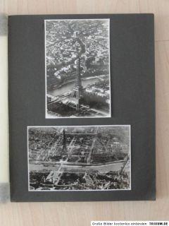 Album mit Foto   AK   PK   Paris Colonial Exposition z.B. Soldat Orden