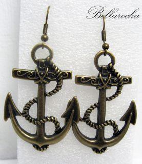 bellarocka anchor your life ANKER OHRRINGE ohrhänger rockabilly pin