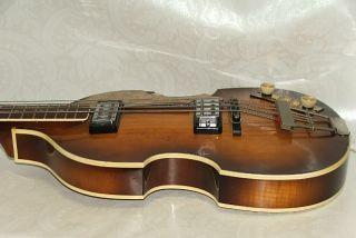 Vintage Hofner Violin Bass 500/1 Beatles Bass Gitarre Guitar / Höfner