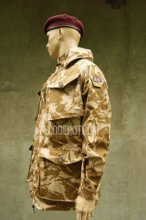Britischer SAS Einsatzjacke Kommando Smock DPM Desert NEU