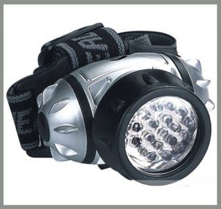 Ultrahelle Profi   LED Stirnlampe Kopflampe 4 Modi Geocaching 19 LED