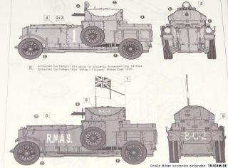 Roden 803 Rolls Royce Panzerwagen 1914   Kit 135