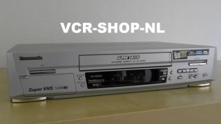Panasonic NV HS820EG S VHS ET HiFi Video Recorder « WWW.VCR SHOP.NL