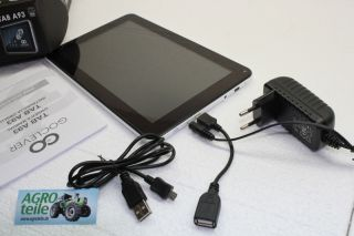 TABLET TAB 9 GoClever A93 4GB 512MB WIFi Kapazitiv Android 4.0.4