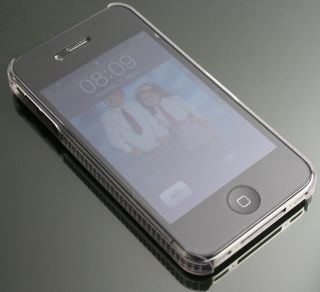 iPhone 4 4G Hülle Hart Cover Tasche Case Schale Pink #2