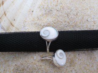 Shiva Auge Ring oval  925 Silber  sehr elegant, schöne Details