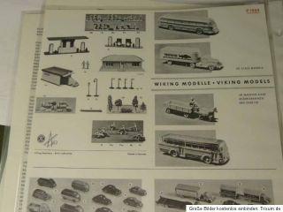 Wiking Katalog Verkehrs Modelle 1948 bis 1978, Original von 1978