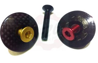 Alu M6 Senkkopfschraube DIN7991 7075 M6 x 20 , 35 rot , schwarz , gold