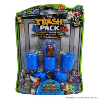 The Trash Pack Serie 3   5er Pack mit 5 Müllmonstern und 5 blauen