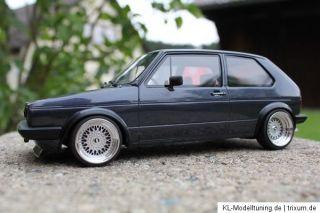 VW Golf I GTI Umbau Tuning 118 Youngtimer KL echt Alufelgen BBS