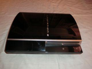 Sony PlayStation 3 PS3 80GB NTSC U/C, defekt? kein Bild