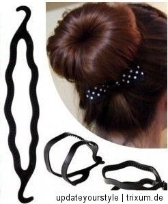 TOPSY TAIL Haardreher Dutt Frisurenhilfe Stylinghilfe Hair Twister