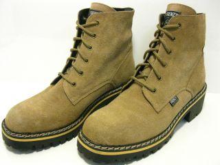 FRENZY Stiefel Boots Hellbraun Wildleder GR 42 #Z854