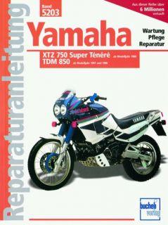 Reparaturanleitung Yamaha XTZ 750 Super Tenere / TDM 850 (5203)