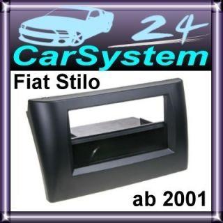 Fiat Stilo Radioblende Doppel DIN Radio Blende #8 /853