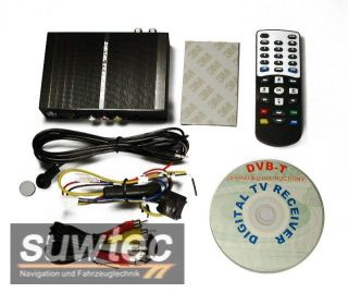 suwtec DVB T Tuner USB EPG Audi VW BMW Mercedes Benz