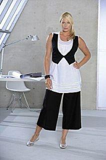 Happy Size Damen 2 in1 Bluse weiss %SALE% NEU