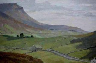 Top Gemälde Claude Horsfall *1907, signiert, datiert 83, verzeichnet