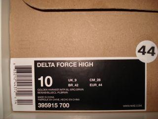 Nike Air Delta Force High 44 Dunk Jordan 97 Cheech SB