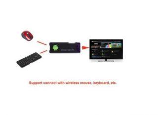 Neu Mini Google Android 4,0 1G A10 Wifi 2160p TV Player Box MK802