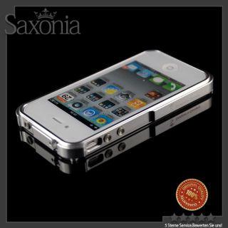 Für Original Apple iPhone 4s 4 G Aluminium Bumper Hülle Tasche