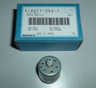 Sony slide motor CDP M30 CDP C500 originalCAS