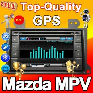 GPS Radio Navigation Car DVD 2011map 2Din RDS Mazda MPV