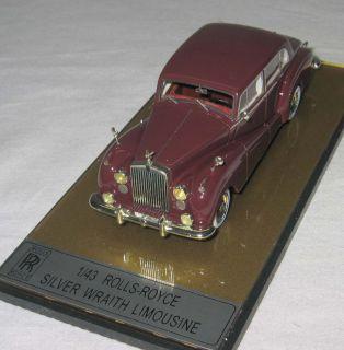 Rolls Royce Silver Wraith Limousine, 1951, 143   [1900]